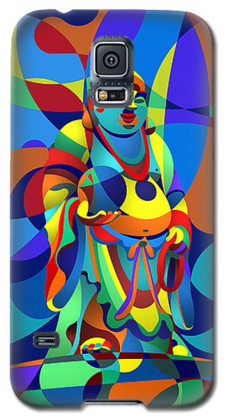 Laughing Buddha Galaxy S5 Case by Randall Henrie