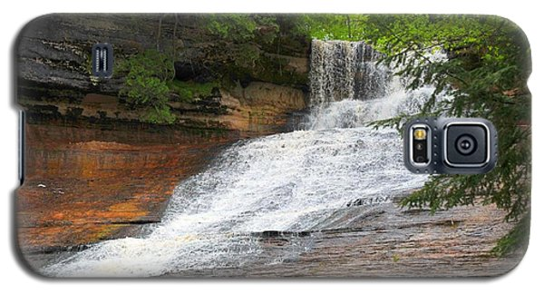 Galaxy S5 Case featuring the photograph Laughing Whitefish Waterfall by Terri Gostola