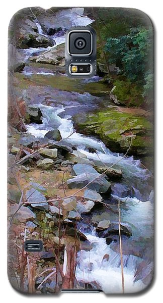 Laurel Creek  Galaxy S5 Case by Tom Culver