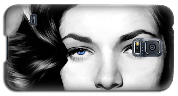 Lauren Bacall Large Size Portrait Galaxy S5 Case
