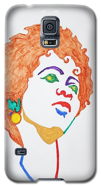 Galaxy S5 Case featuring the painting Lauryn Hill  by Stormm Bradshaw