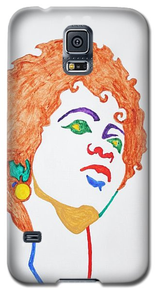 Lauryn Hill  Galaxy S5 Case by Stormm Bradshaw