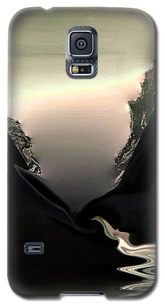 Lava Flow Galaxy S5 Case by Steve Godleski