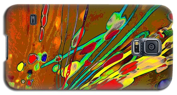 Lava Splash On Venus Abstract Galaxy S5 Case