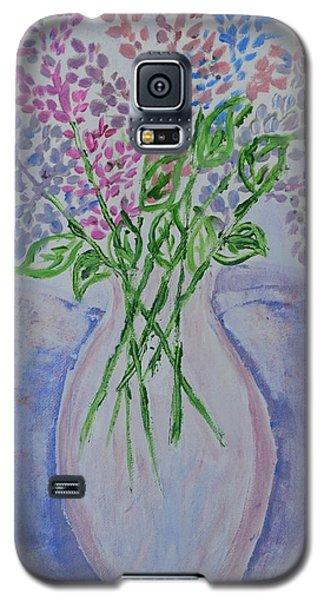Lavendar  Flowers Galaxy S5 Case by Sonali Gangane