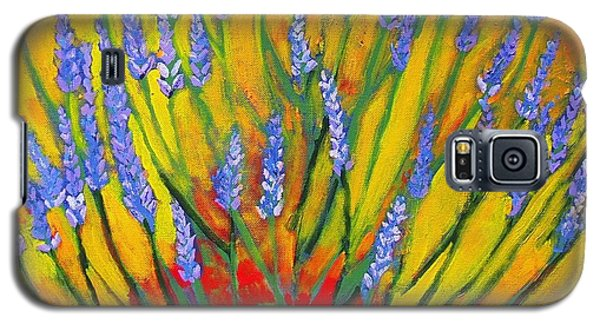 Lavender Afternoon Galaxy S5 Case by Angela Annas