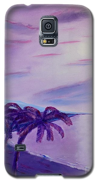 Galaxy S5 Case featuring the painting Lavender Bay by Melvin Turner