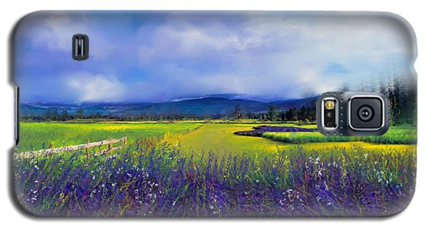 Lavender Blues Galaxy S5 Case by Kari Nanstad