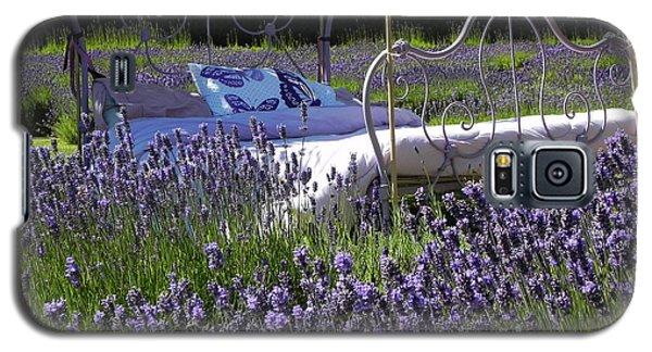 Galaxy S5 Case featuring the photograph Lavender Dreams by Cheryl Hoyle