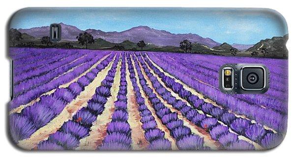 Lavender Field In Provence Galaxy S5 Case by Anastasiya Malakhova