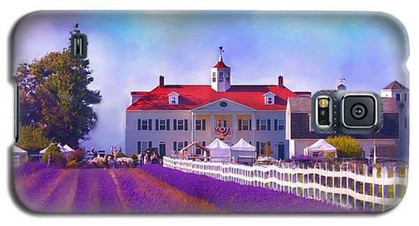 Lavender Fields Galaxy S5 Case by Kari Nanstad