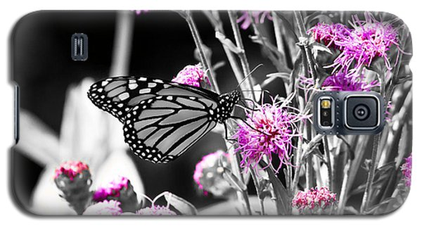 Lavender Flowers Galaxy S5 Case