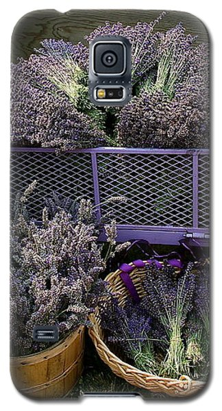 Lavender Harvest Galaxy S5 Case