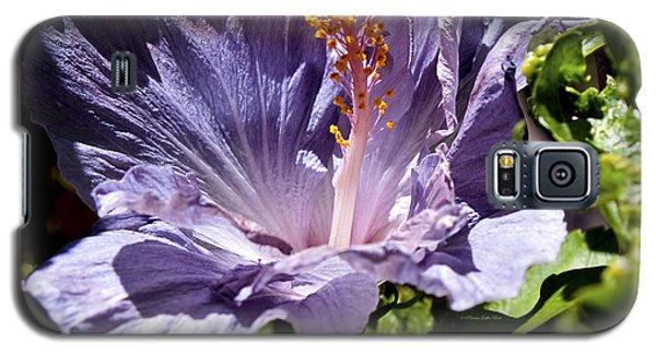Lavender Hibiscus Galaxy S5 Case
