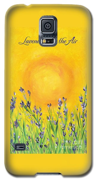 Lavender In The Air Galaxy S5 Case