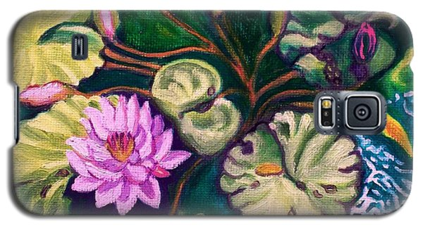 Lavender Lotus Flower Galaxy S5 Case