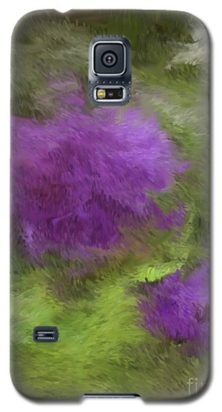 Galaxy S5 Case featuring the digital art Monet Meadow by The Art of Alice Terrill