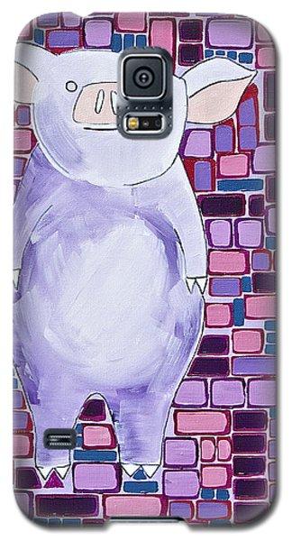 Lavender Piglet Galaxy S5 Case
