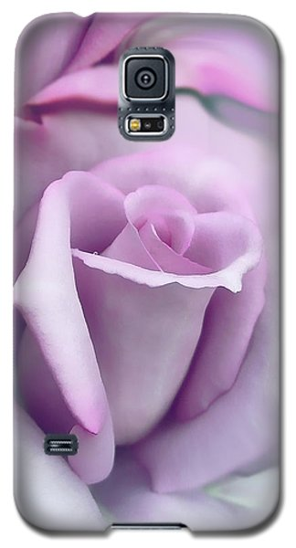 Lavender Rose Flower Portrait Galaxy S5 Case