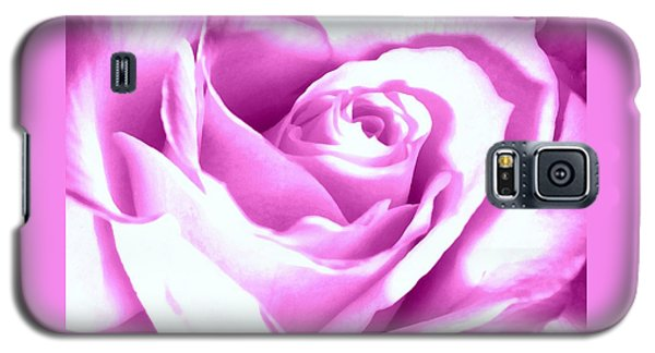 Galaxy S5 Case featuring the photograph Lavender Rose  by Janine Riley