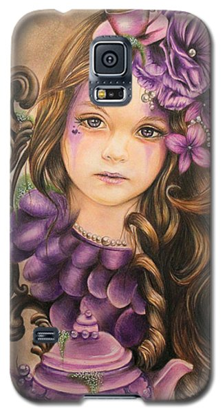 Lavender  Galaxy S5 Case by Sheena Pike