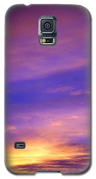 Galaxy S5 Case featuring the photograph Lavender Sunrise by Sue Halstenberg