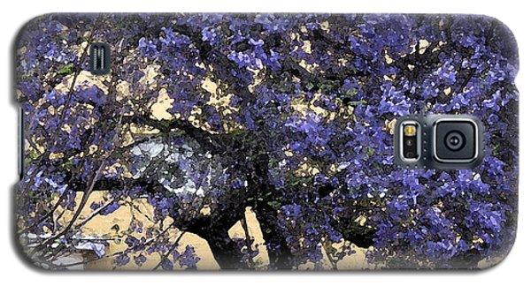 Lavender Tree Galaxy S5 Case by Patricia Januszkiewicz