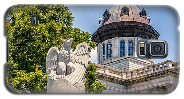 Galaxy S5 Case featuring the photograph Law Enforcement Memorial by Rob Sellers