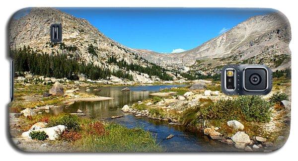 Lawn Lake View Galaxy S5 Case