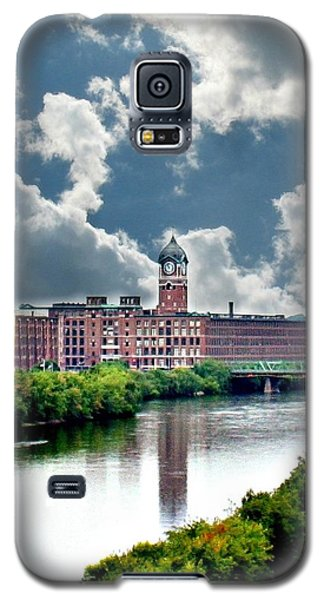 Lawrence Ma Historic Clock Tower Galaxy S5 Case by Barbara S Nickerson