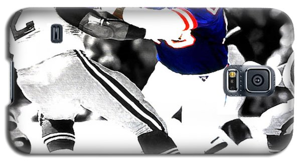 Lawrence Taylor Out Of My Way Galaxy S5 Case by Brian Reaves