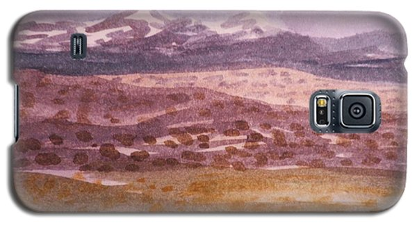 Galaxy S5 Case featuring the painting Layers Of Landscape by Suzanne McKay