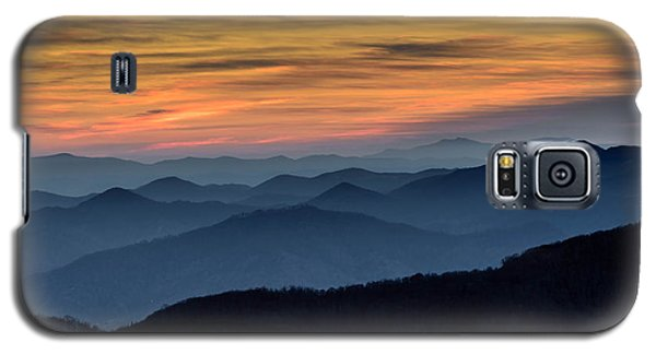 Layers Of The Blue Ridge Mountains Galaxy S5 Case
