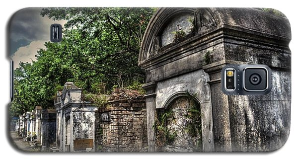 Layfayette Cemetery New Orleans Galaxy S5 Case by Timothy Lowry