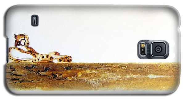 Lazy Dayz Cheetah - Original Artwork Galaxy S5 Case