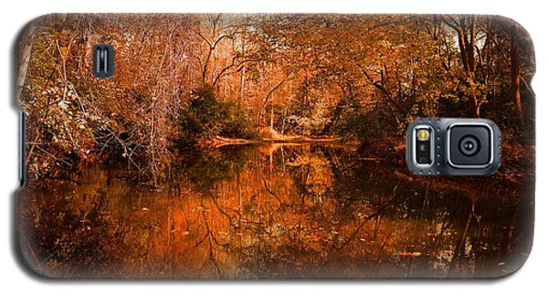 Lazy River Autumn Galaxy S5 Case