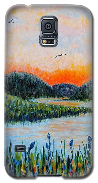 Lazy River Galaxy S5 Case by Holly Carmichael