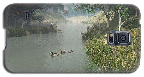 Lazy River Galaxy S5 Case by Jayne Wilson