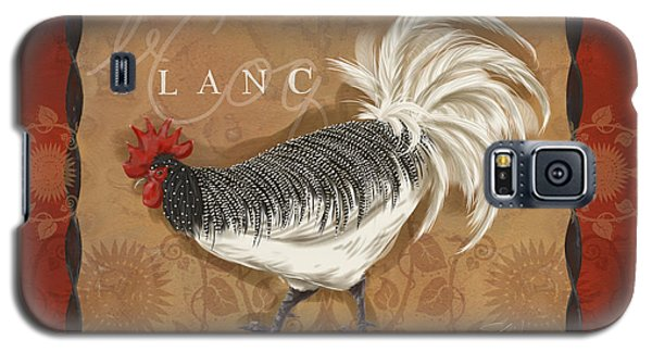 Le Coq Rooster Blanc Galaxy S5 Case