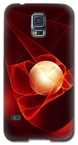 Galaxy S5 Case featuring the digital art Lead Me Into Temptation by Gabiw Art