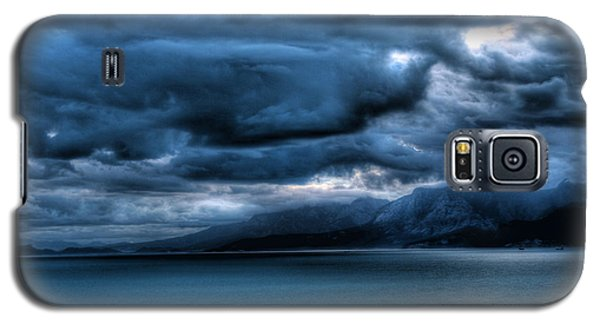 Galaxy S5 Case featuring the photograph Leaden Clouds by Erhan OZBIYIK