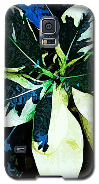 Leaf Abstract #003 Galaxy S5 Case