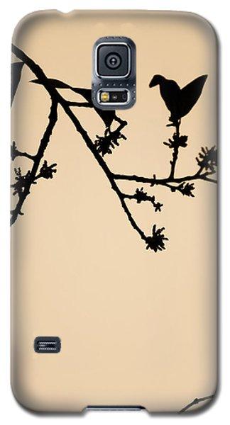 Leaf Birds Galaxy S5 Case by Darryl Dalton