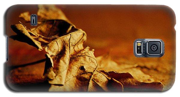Galaxy S5 Case featuring the digital art Leaf by Bruce Rolff