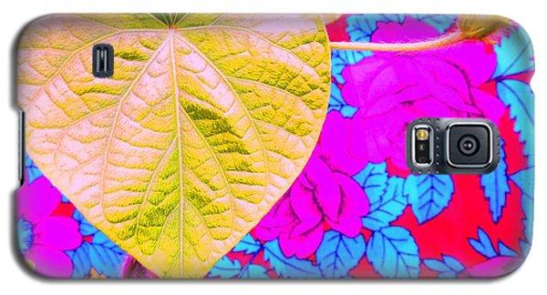 Leaf Heart Galaxy S5 Case by Julia Ivanovna Willhite