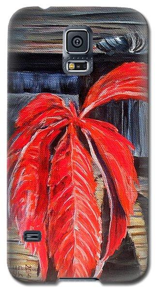 Leaf Shadow 2 Galaxy S5 Case by Marilyn  McNish
