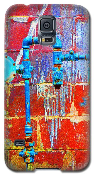 Galaxy S5 Case featuring the photograph Leaky Faucet by Christiane Hellner-OBrien