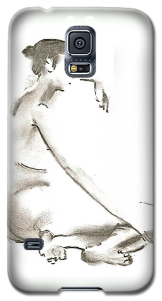 Leaning To The Side Lutar Sig Galaxy S5 Case