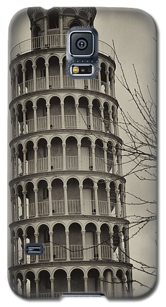 Galaxy S5 Case featuring the photograph Leaning Tower by Miguel Winterpacht
