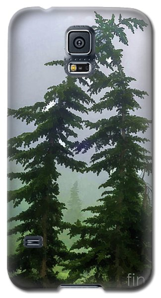 Leaning Trees Galaxy S5 Case